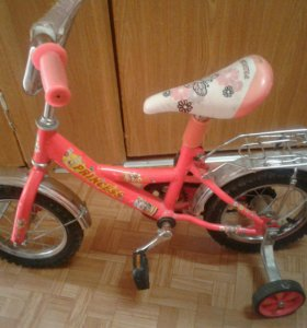 Велосипед с 3 лет