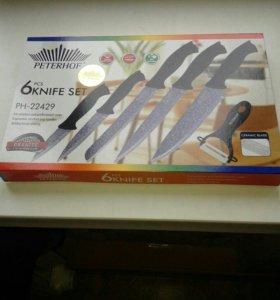 Набор ножей из 6 предметов PETERHOF PH - 22429