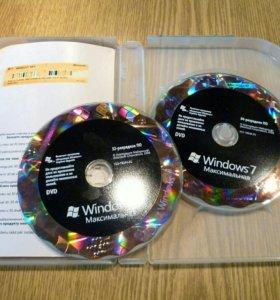 Windows 7 Ultimate RU x32/x64 DVD BOX