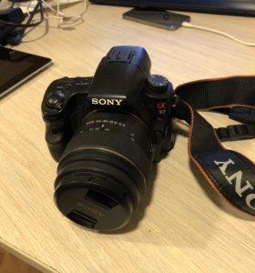 Фотоаппарат зеркальный Sony a37, без торга