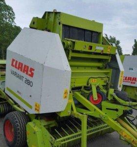 Пресс подборщик рулонный Claas 280