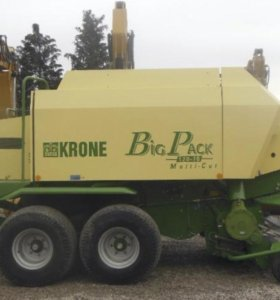 Пресс подборщик Krone Big Pack