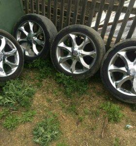 Комплект летних колес