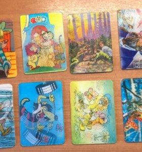 Календари из СССР, Стерео, 3D