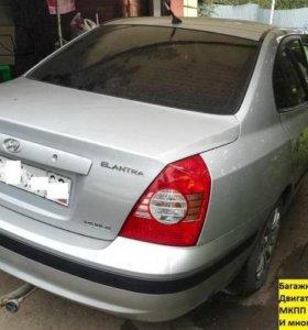 Двери Hyundai Elantra XD (разбор)