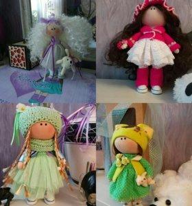 Куклы интерьерные под заказ.