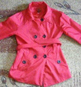 Женское пальто (ветровка)
