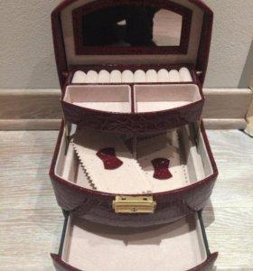 Новые шкатулки для ювелирных украшений