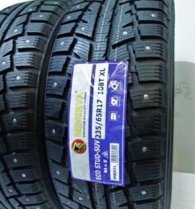 235/65/17 Зимние Новые шины r17 Minerva Eco Stud