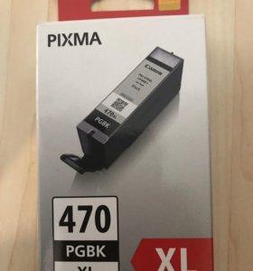 Краска для принтера PIXMA 470 PGBK XL