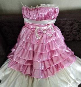 вечернее платье для девочки 6 -7 лет
