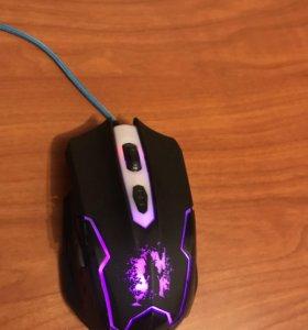 Игровая мышь qumo dragon war