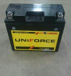Аккумулятор 12v 15х13х6.5 10ah.