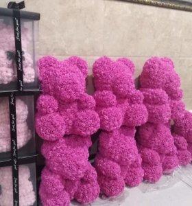Мишки из роз 3D - оптом из Китая