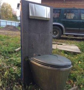 Унитаз инсталяция