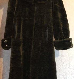 Зимнее пальто- шуба