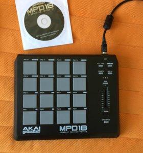 Midi-контроллер AKAI Professional MPD18