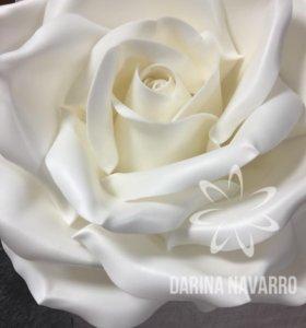 Светильник Роза из изолона 50см