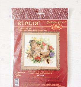 Новый набор для вышивания крестиком Riolis