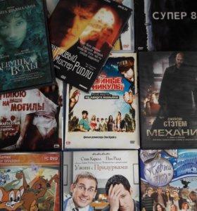 Отдам DVD диски с фильмами