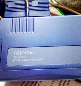 KVM TRENDnet TK-210К