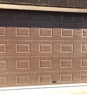 Ворота гаражные секционные ,рольставни