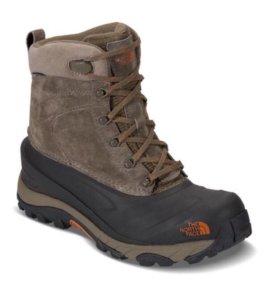 Новые зимние ботинки The North Face chilkat III