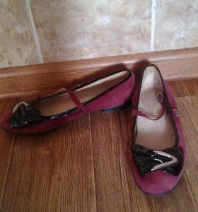 Туфли натуральные, 34