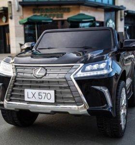 Электромобиль Lexus LX 570