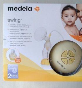 Одинарный электронный молокоотсос Swing Medela