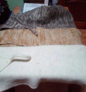 Платки для поясницы из овечьей шерсти