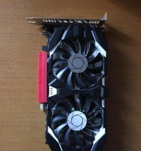 GTX 1050 ti 4GB от MSI