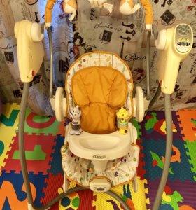 Качели+кресло-качалка 2 в 1