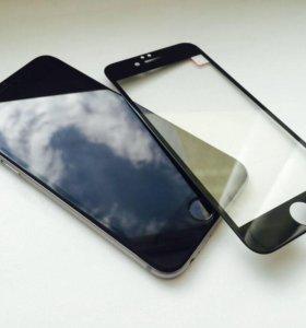 Защитное стекло для iPhone 6 / 6S 3D .