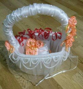 Корзина для даров на свадьбу