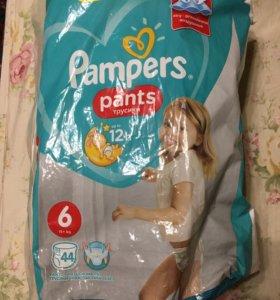 Трусики Pampers размер 6