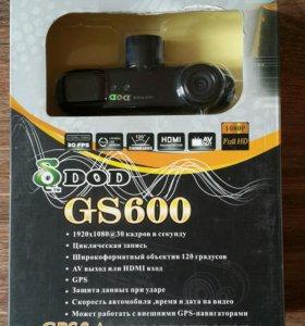 Видеорегистратор DOD GS600 новый