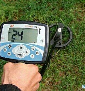 Xterra750 Металоискатель полупрофесиональный