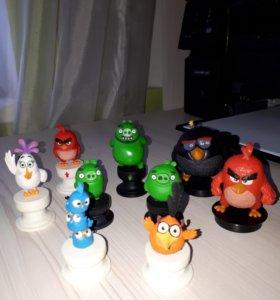 Игрушки фигурки Angry birds