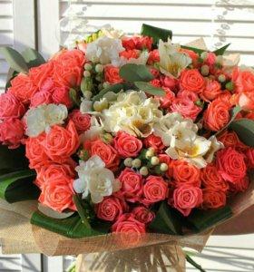 Букет из свежих цветов