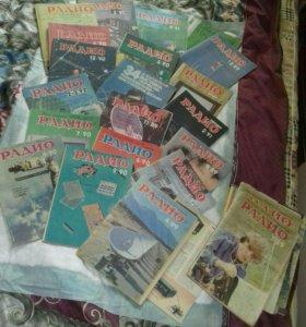 Журналы старинные по радиотехнике