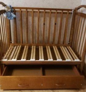 Кроватка детская Можга 120х60