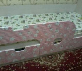 Продаётся новая детская кровать+матрас