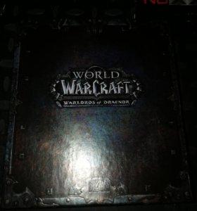 Коробка от коллекционного издания wow