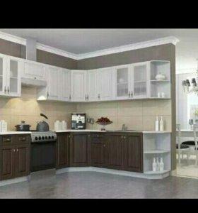Кухни, шкафы,прохожие и многое другое