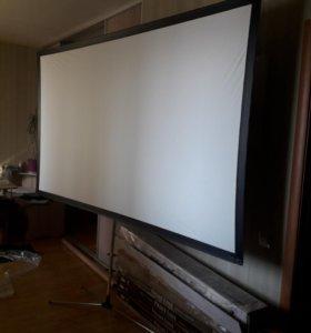 Экран для проэктора. НОВЫЙ!
