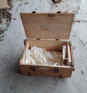 Ящик деревянный для декора