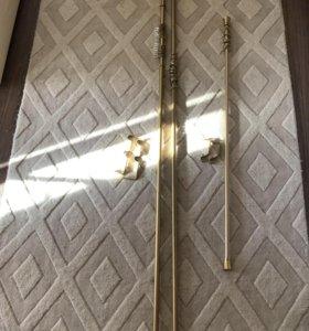 Карнизы для штор металлические