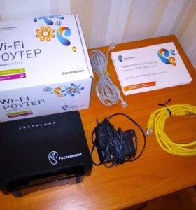 Adsl wi-fi роутер Ростелеком