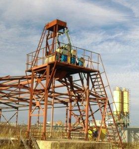 Мини бетонный завод Бюджет-30 производства ZZBO